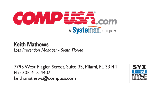 Tiger direct business cards executive printers of florida compusa reheart Gallery