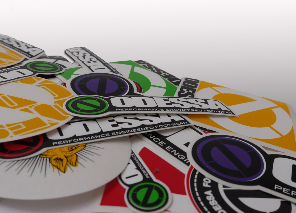 Large Die Cut Stickers