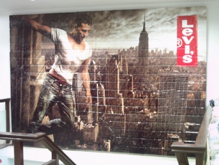 Textured Rough Wall Graphics Wrap Executive Printers Of